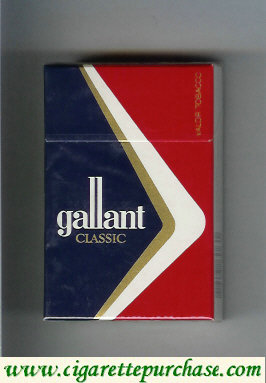 Gallant Classic Cigarettes hard box