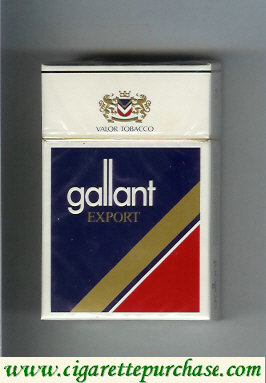 Gallant Export Cigarettes hard box