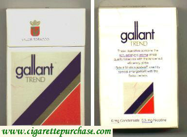 Gallant Trend Cigarettes hard box