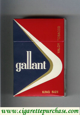 Gallant King Size Cigarettes hard box