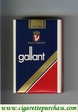 Gallant Cigarettes soft box