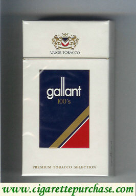 Gallant 100s Cigarettes hard box