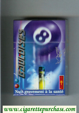 Discount Gauloises 8 cigarettes hard box