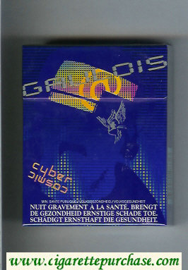 Discount Gauloises Cyber Cosmic 25s cigarettes hard box