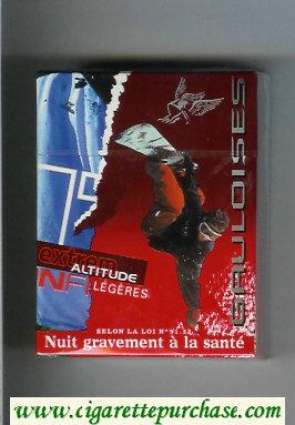 Discount Gauloises Extrem Altitude Legeres 30s cigarettes hard box