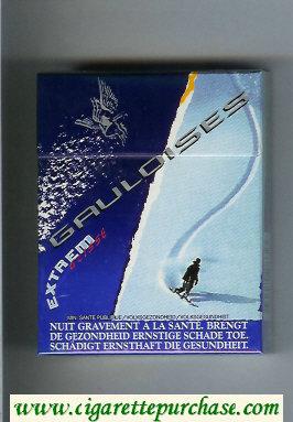 Discount Gauloises Extrem Glisse 25s cigarettes hard box