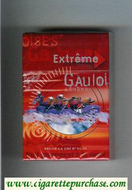Discount Gauloises Extreme Legeres cigarettes hard box