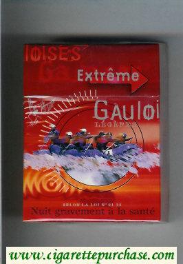 Discount Gauloises Extreme Legeres 30s cigarettes hard box