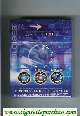 Discount Gauloises Time 25s cigarettes hard box