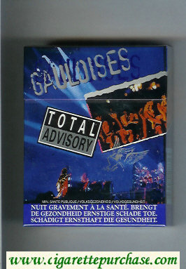 Discount Gauloises Total Advisory 25s cigarettes hard box