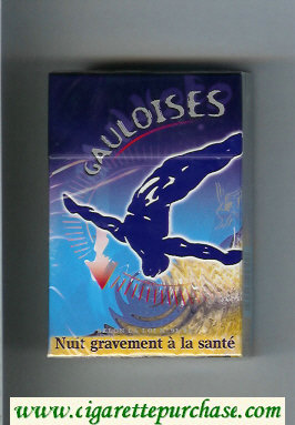 Discount Gauloises with gymnast cigarettes hard box