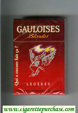 Discount Gauloises Blondes Legeres Qui a Encore Fait Ca ' cigarettes hard box