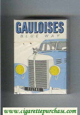 Discount Gauloises Blue Way Filtre Cigarettes hard box