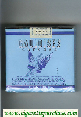 Discount Gauloises Caporal Filtre 25s cigarettes soft box