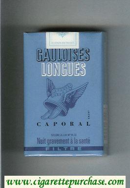 Discount Gauloises Longues Caporal Filtre cigarettes soft box