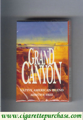 Discount Grand Canyon cigarettes hard box