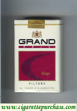 Discount Grand Prix Filters cigarettes soft box