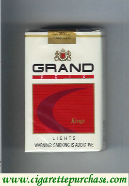 Discount Grand Prix Lights Kings cigarettes soft box