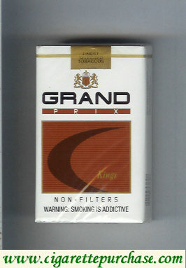 Discount Grand Prix Kings Non-Filters cigarettes soft box