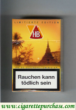 HB Limitierte Edition hard box cigarettes