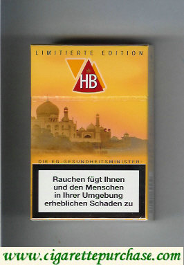 HB hard box Limitierte Edition cigarettes