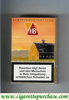 HB cigarettes hard box Limitierte Edition