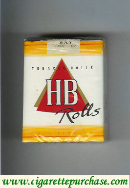 HB Rolls Full Flavour cigarettes soft box