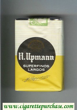 H.Upmann Superfinos Largos cigarettes soft box