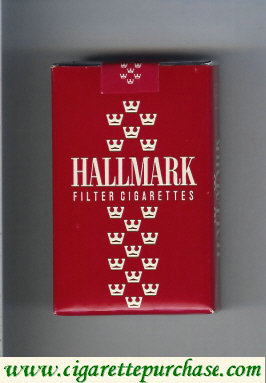 Hallmark Filter cigarettes red soft box