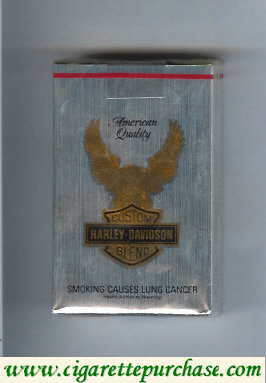 Harley-Davidson cigarettes Lights soft box