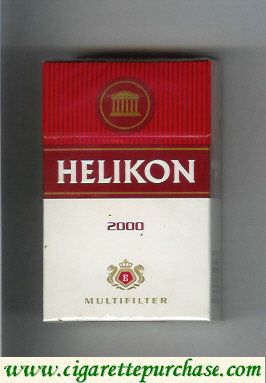 Helikon 2000 Multifilter cigarettes hard box