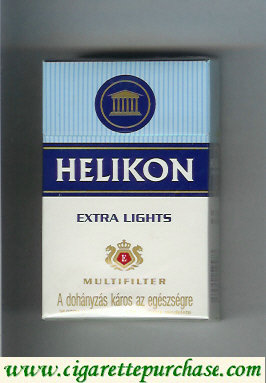 Helikon Extra Lights Multifilter cigarettes hard box
