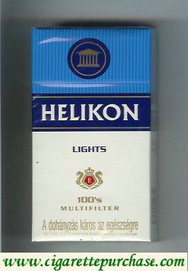 Helikon Lights 100s Multifilter cigarettes hard box