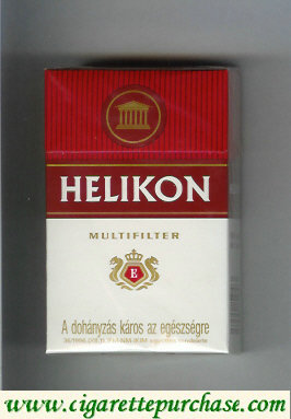 Helikon Multifilter white and red cigarettes hard box