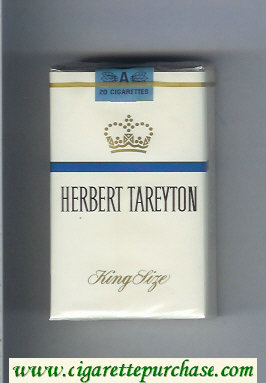 Herbert Tareyton cigarettes King Size soft box