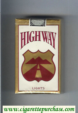 Highway Lights cigarettes soft box