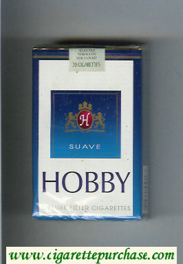 Hobby Suave Deluxe Filter cigarettes soft box