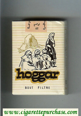Hoggar Bout Filtre cigarettes soft box