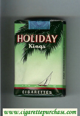 Holiday Kings cigarettes soft box