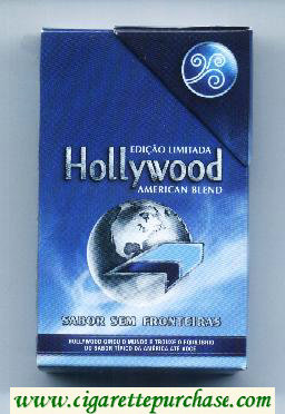 Hollywood Sabor Sem Fronteiras American Blend cigarettes soft box