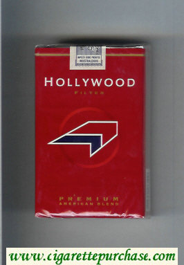 Hollywood Filter Premium American Blend cigarettes soft box