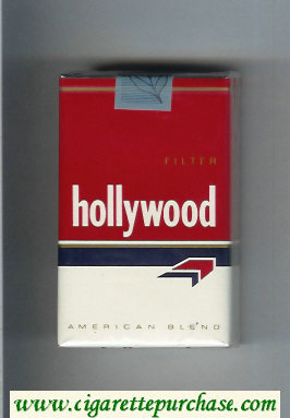 Hollywood Filter cigarettes soft box