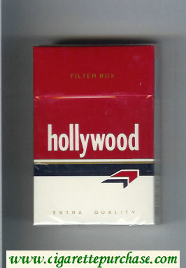 Hollywood Extra Quality Filter Box cigarettes hard box