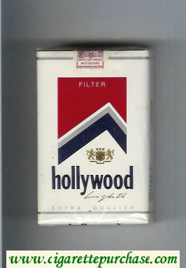 Hollywood Lights Extra Quality Filter cigarettes soft box