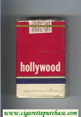 Hollywood cigarettes soft box