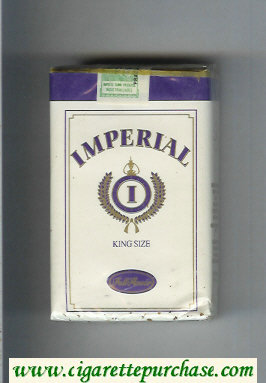 Imperial King Size Full Flavor cigarettes soft box