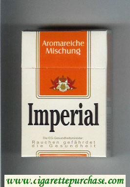 Discount Imperial Aromareieche Mischung cigarettes hard box