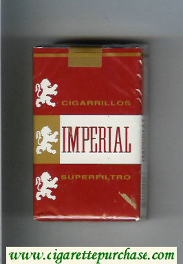 Imperial Superfiltro Cigarrillos cigarettes soft box