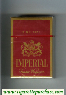 Imperial Finest Virginia King Size cigarettes hard box