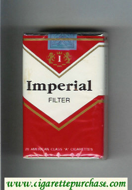 Imperial Filter cigarettes soft box